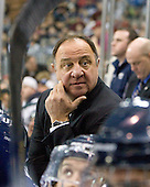 Dick Umile (UNH - Head Coach) - The University of Notre Dame Fighting Irish defeated the University of New Hampshire Wildcats 2-1 in the NCAA Northeast Regional Final on Sunday, March 27, 2011, at Verizon Wireless Arena in Manchester, New Hampshire.