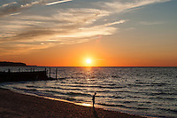 Iron Pier Sunset<br /> Riverhead, Long Island
