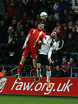 Wales versus Austria, friendly, 6th Feb
