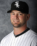 GLENDALE, AZ - MARCH 03:  Jesse Crain of the Chicago White Sox poses for his official team headshot during photo day on March 3, 2012 at The Ballpark at Camelback Ranch in Glendale, Arizona. (Photo by Ron Vesely)   Subject:   Jesse Crain