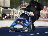 May 13, 2016; Commerce, GA, USA; NHRA funny car driver Alexis DeJoria during qualifying for the Southern Nationals at Atlanta Dragway. Mandatory Credit: Mark J. Rebilas-USA TODAY Sports