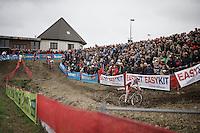 Laurens Sweeck (BEL/ERA-Murprotec)<br /> <br /> Jaarmarktcross Niel 2015  Elite Men &amp; U23 race