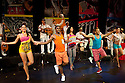 "06.06.12. London, UK. ""Havana Rumba!"", the Cuban Salsa, Rumba, Rum and Reggaeton show returns to the UK. Being performed in the upside down cow venue, The Udderbelly, on the Southbank, the show runs from Wednesday 20th May to Sunday 8th July 2012. Picture shows: Marilyn Acosta Lop, Osvady Despaigne Gainza, Yuyu Vega Ruiz, Papito Chango, Freddy Clan, Wendy Alvarez."