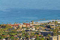 La Jolla, View From Mount Soledad, a prominent landmark in the city of San Diego, California