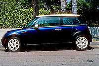 Car: Mini Cooper by BMW, year 2000.