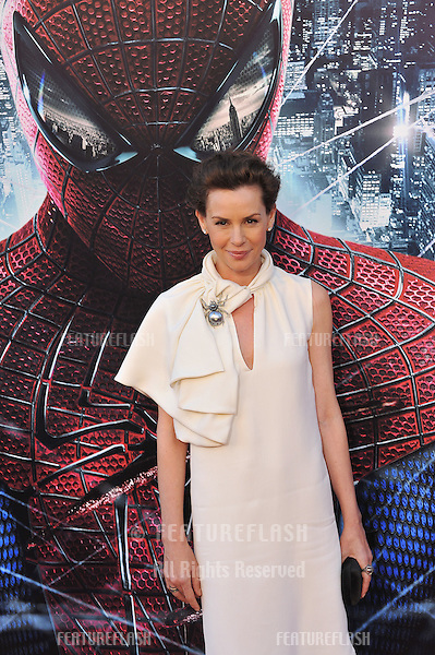 """Embeth Davidtz at the world premiere of her movie """"The Amazing Spider-Man"""" at Regency Village Theatre, Westwood..June 29, 2012  Los Angeles, CA.Picture: Paul Smith / Featureflash"""
