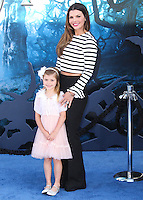 HOLLYWOOD, LOS ANGELES, CA, USA - MAY 28: Estela Monteverde, Ali Landry at the World Premiere Of Disney's 'Maleficent' held at the El Capitan Theatre on May 28, 2014 in Hollywood, Los Angeles, California, United States. (Photo by Xavier Collin/Celebrity Monitor)
