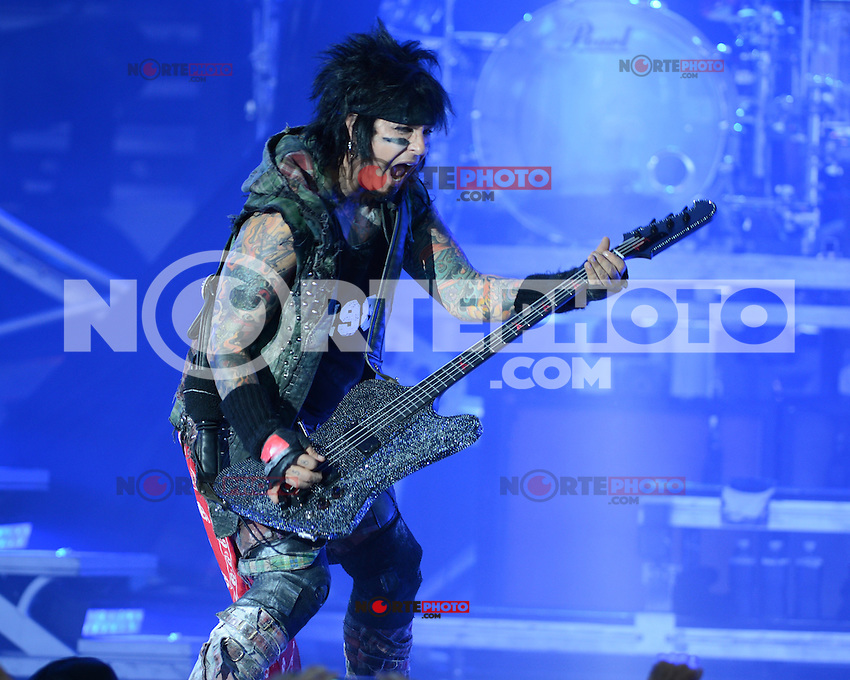 ALBUQUERQUE NM - AUGUST 7:  Nikki Sixx of Motley Crue performs at the Hard Rock Casino Albuquerque on August 7, 2012 in Albuquerque, New Mexico. Credit: MediaPunch Inc.