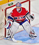 21 December 2008: Montreal Canadiens' goaltender Carey Price in action during the first period against the Carolina Hurricanes at the Bell Centre in Montreal, Quebec, Canada. The Hurricanes defeated the Canadiens 3-2 in overtime. ***** Editorial Sales Only ***** Mandatory Photo Credit: Ed Wolfstein Photo