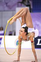 September 23, 2014 - Izmir, Turkey -  ARINA CHAROPA of Belarus performs at 2014 World Championships.