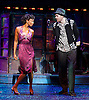 Memphis <br /> The Musical <br /> at the Shaftesbury Theatre, London, Great Britain <br /> Press photocall<br /> 21st October 2014 <br /> <br /> <br /> Beverley Knight as Felicia Farrell <br /> <br /> Killian Donnelly as Huey Calhoun<br /> <br /> Photograph by Elliott Franks <br /> Image licensed to Elliott Franks Photography Services