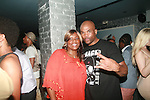 "Nichelle ""Nikki D"" Strong and Darryl ""D.M.C."" Matthews McDaniels Attend Vivica A. Fox Hosts Private Celebration for the 31st Birthday of Publicist BJ Coleman and the Launch of www.burgersandbourbon.com Sponsored by Pisco Portón,  at The Marcel Hotel's Polar Lounge, 8/25/11"