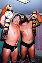 File Photo : (L-R)  Stan Hansen,  Bruiser Brody,.AUGUST 26, 1984 - Pro Wrestling :.All Japan Pro-Wrestling event at Denen Coliseum in Tokyo, Japan. (Photo by Yukio Hiraku/AFLO)