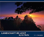 2014 Light on the Land Wall Calendar<br />