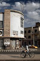 The capital Asmara, Eritrea..
