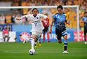 (L to R) Kunimitsu Sekiguchi (Vegalta), Yusuke Igawa (Frontale), APRIL 23, 2011 - Football : 2011 J.LEAGUE Division 1 between Kawasaki Frontale 1-2  Vegalta Sendai at Kawasaki Todoroki Stadium, Kanagawa, Japan. (Photo by Atsushi Tomura /AFLO SPORT) [1035]
