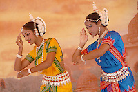 Odissi Dance Circle performs during the 33rd Annual Festival of Chariots on Sunday, August 2, 2009. Odissi dance is a classical dance form of Orissa and has its origin in the temples. The Festival of the Chariots featured free feast for thousands, free entertainment, exhibits and booths all bringing together the finest in Indian culture. The festival celebrates Lord Jagannatha, the Lord of the Universe, and is put on by the International Society for Krishna Consciousness (ISKCON). The Festival of the Chariots is now performed in every country across the world and dates back 5 thousand years to Jagannatha Puri, India.
