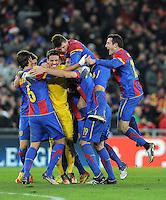 Fussball Uefa Champions League 2011/12: FC Basel - Manchester United