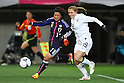(L to R) Shinobu Ono (JPN), Rachel Buehler (USA), .April 1, 2012 - Football / Soccer : .KIRIN Challenge Cup 2012 .Match between Japan 1-1 USA .at Yurtec Stadium Sendai, Miyagi, Japan. .(Photo by Daiju Kitamura/AFLO SPORT) [1045]..