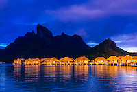 French Polynesia-Bora Bora-Four Seasons Resort-Overwater Bungalows