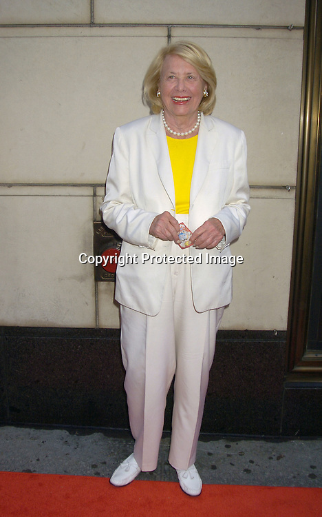 "Liz Smith ..at a Book party for Madonna's new book ""Lotsa De Casha"" ..on June 7, 2005 at Bergdorf Goodman. ..Photo by Robin Platzer, Twin Images"