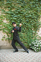 Argentina, Buenos Aires, Tango dancer, solo portrait, young man