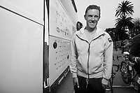 Giro d'Italia stage 13.Savano-Cervere: 121km..Serge Pauwels before the race