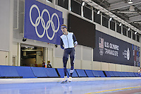 SPEED SKATING: SALT LAKE CITY: 18-11-2015, Utah Olympic Oval, ISU World Cup, training, Bart Swings (BEL), ©foto Martin de Jong
