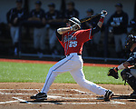 Ole Miss' Andrew Mistone (25) vs. North Carolina-Wilmington at Oxford-University Stadium in Oxford, Miss. on Sunday, February 26, 2012. Ole Miss won 10-5..