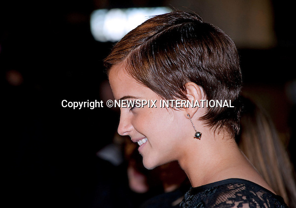 """EMMA WATSON.HARRY POTTER AND THE DEATHLY HALLOWS PART 1 _ .Stars from the seventh film in the series gathered for the World Premiere at .the Odeon Leicester Square, London_England_11/10/2010..Mandatory Photo Credit: ©Dias/Newspix International..**ALL FEES PAYABLE TO: """"NEWSPIX INTERNATIONAL""""**..PHOTO CREDIT MANDATORY!!: NEWSPIX INTERNATIONAL(Failure to credit will incur a surcharge of 100% of reproduction fees)..IMMEDIATE CONFIRMATION OF USAGE REQUIRED:.Newspix International, 31 Chinnery Hill, Bishop's Stortford, ENGLAND CM23 3PS.Tel:+441279 324672  ; Fax: +441279656877.Mobile:  0777568 1153.e-mail: info@newspixinternational.co.uk"""