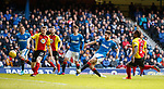 Jon Toral scores the second goal for Rangers