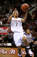 4 March 2007: Markisha Coleman during Stanford's 67-52 win over USC at the Pac-10 women's basketball tournament at HP Pavilion in San Jose, CA.