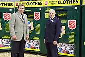 MP for Kettering, Philip Hollobone, visits Kettering Textiles the base of the Salvation Army Trading Company.