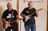 Player's pensioners Gordon Goodwin (left) and Bob Blackhurst have reformed their band The Vibrants, which they started in 1961