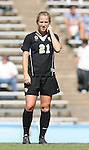14 October 2007: Wake Forest's Amy Smerdzinski. The University of North Carolina Tar Heels defeated the Wake Forest University Demon Deacons 1-0 at Fetzer Field in Chapel Hill, North Carolina in an Atlantic Coast Conference NCAA Division I Womens Soccer game.