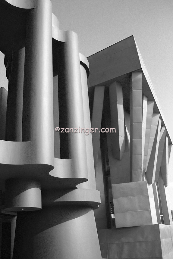 Google Binoculars, Frank Gehry, Architect,  Building, commercial office building,  Venice, Los Angeles, CA,