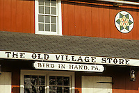 old village store Bird In Hand, PA  Hex sign