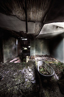 An abandoned bath at Manor House B