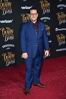 Josh Gad at the premiere for Disney's &quot;Beauty and the Beast&quot; at El Capitan Theatre, Hollywood. Los Angeles, USA 02 March  2017<br /> Picture: Paul Smith/Featureflash/SilverHub 0208 004 5359 sales@silverhubmedia.com