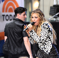NEW YORK, NY-July 01: Rachel Platten perform on NBC's Today Show Citi Concert Series at Rockefeller Center in New York. NY July 01, 2016. Credit:RW/MediaPunch