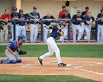 Mississippi's Alex Yarbrough bats vs. Florida at Oxford-University Stadium on Saturday, March 27, 2010 in Oxford, Miss. Ole Miss won 15-3.