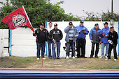 Lakeside fans - Reading Bulldogs vs Lakeside Hammers - Elite League Speedway at Smallmead, Reading- 23-04-07 - MANDATORY CREDIT: Gavin Ellis/TGSPHOTO - IMAGES USED WILL BE INVOICED AT STANDARD RATES..
