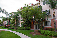 The student apartments in West Palm Beach, Florida.