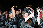 College of Communications students participate in fall commencement. Photo by Ben Siegel