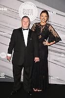 LONDON, UK. December 4, 2016: Steven Brandon &amp; Shana Swash at the British Independent Film Awards 2016 at Old Billingsgate, London.<br /> Picture: Steve Vas/Featureflash/SilverHub 0208 004 5359/ 07711 972644 Editors@silverhubmedia.com
