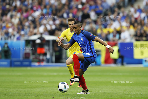 Dimitri Payet (FRA), JUN 10, 2016 - Football / Soccer : UEFA Euro 2016 group stage match between France 2-1 Romania at the Stade de France in Saint-Denis, France. (Photo by Mutsu Kawamori/AFLO) [3604]