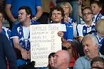 St Johnstone v Rosenborg....25.07.13  Europa League Qualifier<br /> St Johnstone fans<br /> Picture by Graeme Hart.<br /> Copyright Perthshire Picture Agency<br /> Tel: 01738 623350  Mobile: 07990 594431
