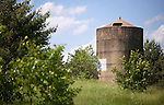 A collection of Barns that still can be seen while traveling the countryside in  the beautiful State of Wisconsin.<br /> Waushara County- Concrete silo on County Road P, 1/2 mile east of 15th Rd.