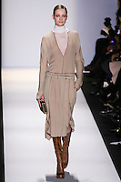 Maud Welzen walks the runway in an out by Max Azria, for the BCBGMAXAZRIA Fall 2011 fashion show, during Mercedes Benz Fashion Week.