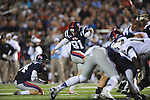 Ole Miss kicker Bryson Rose (81) vs. Vanderbilt at Vaught-Hemingway Stadium in Oxford, Miss. on Saturday, November 10, 2012. (AP Photo/Oxford Eagle, Bruce Newman)